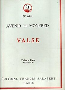 MONFRED-VALSE-pour-violon-et-piano