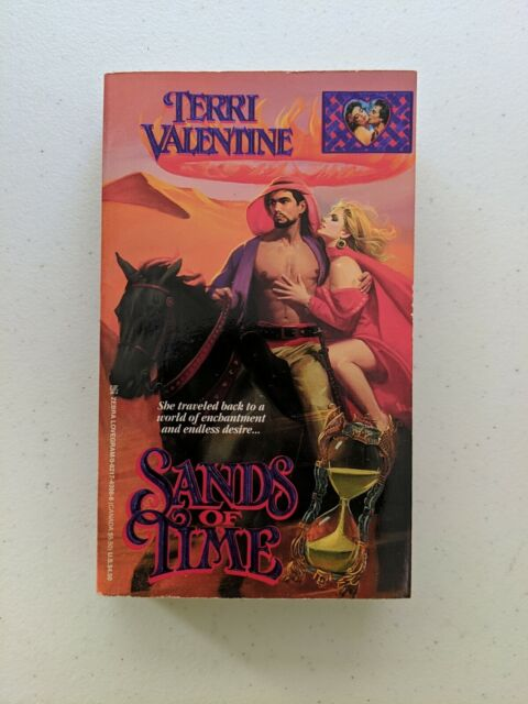 Sands of Time by Terri Valentine, First Printing (1993, Zebra)