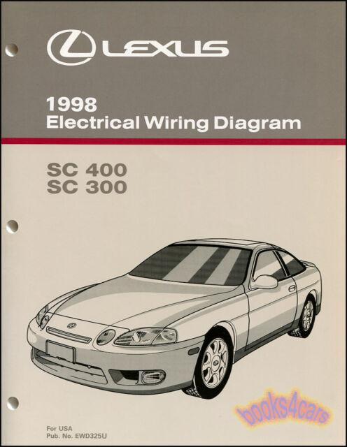 2000 Lexus Sc300 Sc400 Coupe Electrical Wiring Diagram