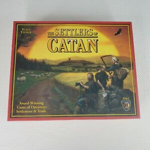 The Settlers of Catan Board Game Klaus Teuber Mayfair 3061 2007 Complete