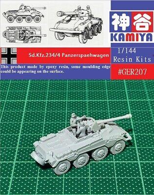 KAMIYA 1//144 WWII Italian Fiat 626NM Armored Truck Resin Kit #ITL102B