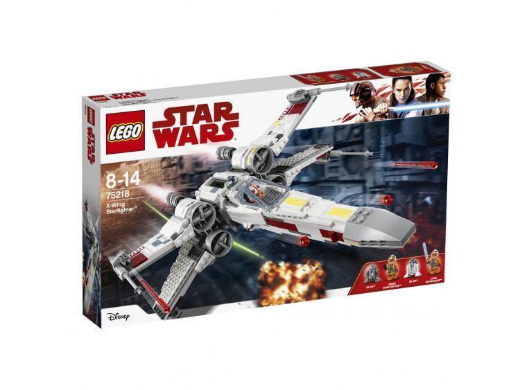 LEGO 75218 Star Wars X-Wing stellari LEGO STARWARS costruzione modulare nuovo
