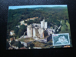 FRANCE-carte-1er-jour-10-7-1976-chateau-de-bonaguil-cy15-french