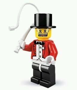 LEGO-Collectible-Minifigure-Series-2-Ringmaster-NO-base-plate-Circus-master