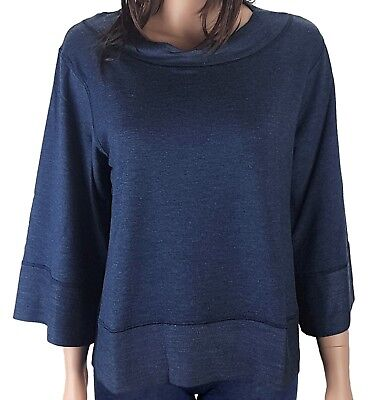 Joop! Sweat Top Dark Blue Sweatshirt Damen Sweater Langarmshirt Shirt Pullover
