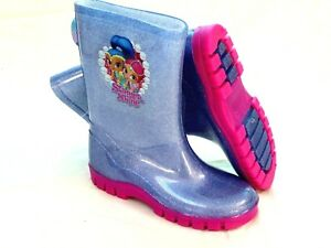 Blue Floral Wellies BNWT Infant Girls Size 5