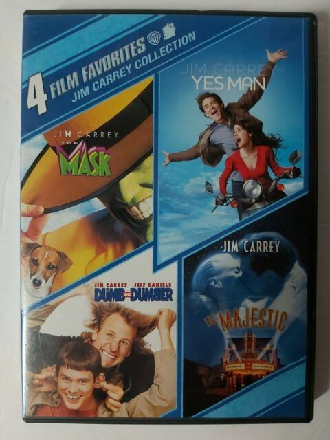 Jim Carrey Collection: 4 Film Favorites (dvd, 2010, 2-Disc Set)
