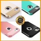 For iPhone 6 6S 8 7 Plus Case Hybrid Hard Heavy Duty Shockproof Gel Rubber Cover