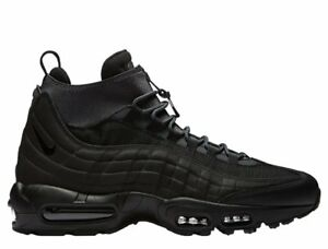 f5c6515c469 NIKE AIR MAX 95 SNEAKERBOOT 806809-001 BLACK BLACK ANTHRACITE WHITE ...