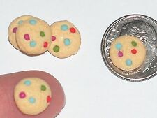 4pc miniature little dollhouse candy Easter Christmas cookies food