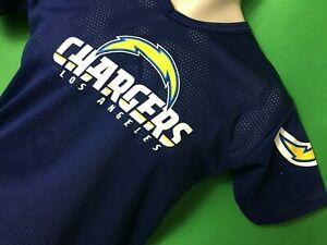 J465-100-NFL-Los-Angeles-Chargers-Franklin-Mesh-Jersey-Youth-Medium-10-12
