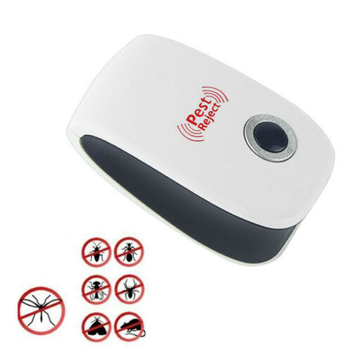 Electronic Ultrasonic Pest Reject Mosquito Cockroach Mouse Killer Repeller NEW