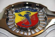 Classica FIAT 500 595 695 ABARTH FRONT BADGE EMBLEMA NUOVO di zecca