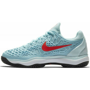NEW WOMEN'S NIKE AIR ZOOM CAGE 3 HC TENNIS SHOES (STILL BLUE ...
