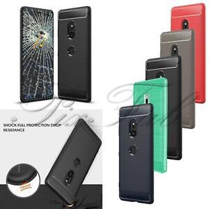 Pour Sony Xperia Xz3 H8416 H9436 Neuf Carbone Fibre Gel Phone étui écran Verre Ebay