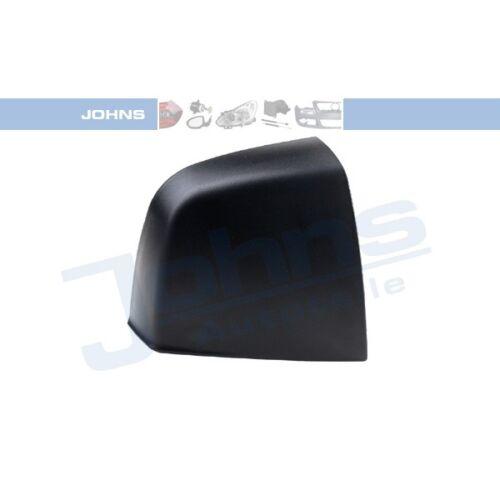 JOHNS 30523890 miroir capuchon Boîtier Miroir Rétroviseur Extérieur Couverture noir droite