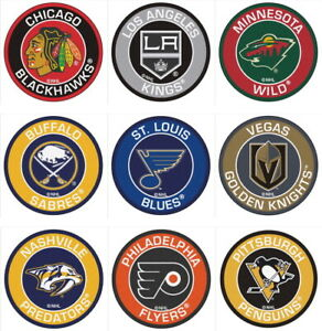 Hockey-Round-Area-Rug-Roundel-Mat-Fanmats-Choose-Your-Team-NHL