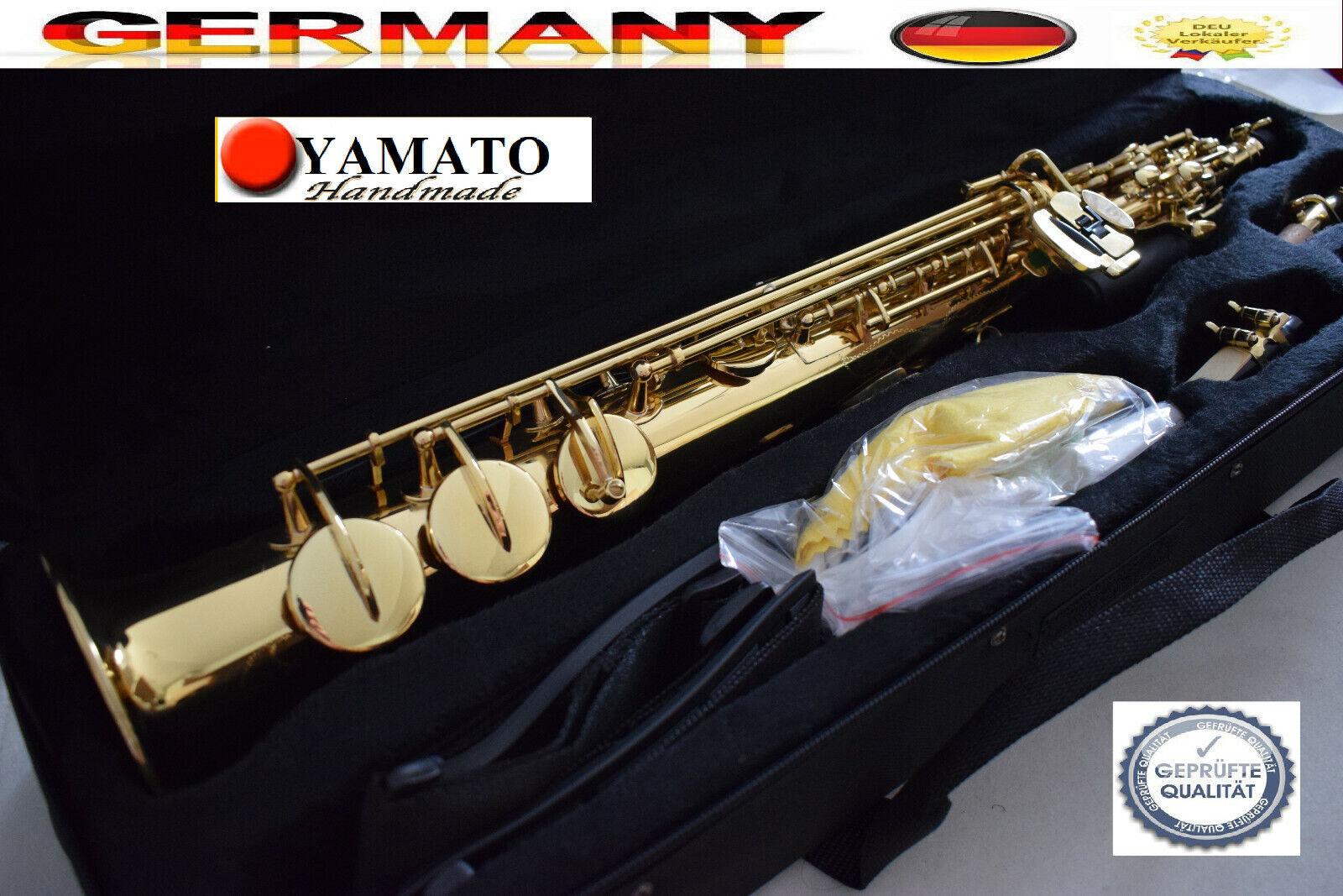 YAMA. Saxophon gerade Sopran saxophone saxófono straight  straight body