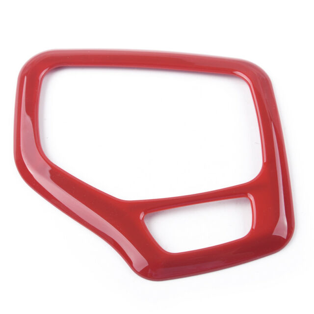 Interior Red Gear Frame Cover Fit For Jeep Cherokee 2016