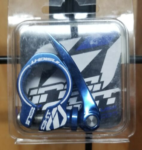 Insight BMX Quick Release Seat Clamp 25.4mm Blue