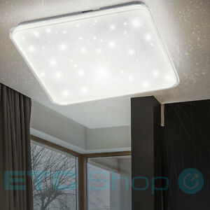 Design Led Decken Lampe Schlafzimmer Sternen Himmel Effekt Dimmer