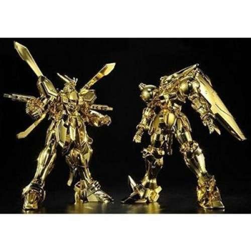 Mobile Fighter G Gundam HGFC 1 144 God Gundam VS Master Gundam  Hyper Mode Set