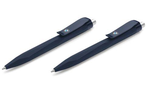Original BMW Kugelschreiber-Set Dunkel Blau BMW Logo Stift 80242454633 2454633x2