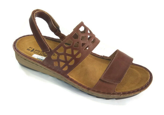 Naot Acacia Donna Sandals Shoes Pelle Flat Gladiator Ankle Strap New Wedge