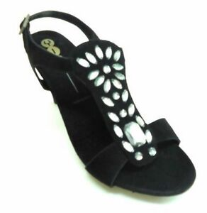 d3da2adede8 NEW IN BOX! Yin Kya Black Suede Pump Shoes Sandals Women s Size 39M ...