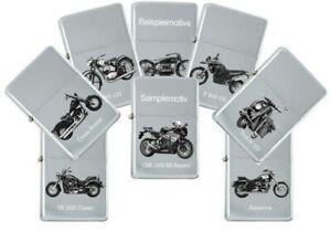 Sturm Lighter With Genuine Engraving: Motorcycle Models Brand Suzuki Petrol