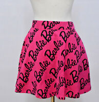 7c Wet Seal All Over Barbie Pink Casual Summer Skirt For Girls