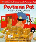 Postman Pat Has Too Many Parcels by John Cunliffe (Hardback, 1997)