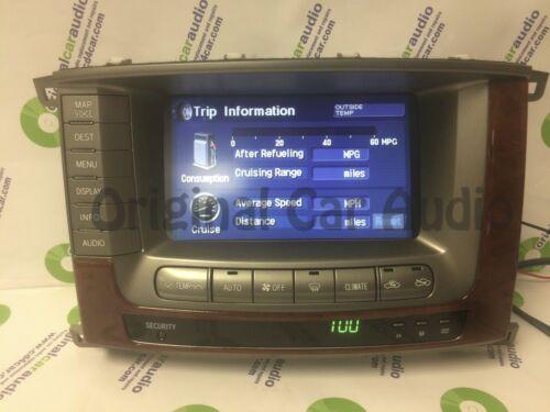REPAIR 2004 2005 2006 2007 Toyota Land Cruiser OEM Pioneer Navigation Display