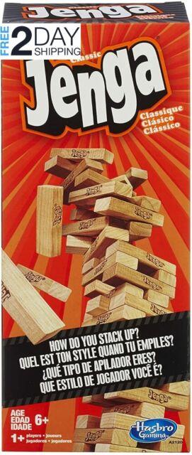 Hasbro 53557 Jenga The Classic Brick Game for sale online