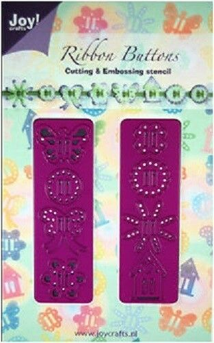 Joy Crafts corte /& Grabado en Relieve de los botones de cinta 6002//0131 Reducido
