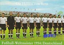 Fußball Weltmeisterschaft + Weltmeister Postkarten Serie + 1954 DEUTSCHLAND (1)