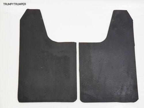 BACK OFF 4X4 OFF-ROAD MUD FLAPS SPLASH GUARDS UNIVERSAL TRUCK UTE BLACK RUBBER