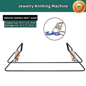 Steel-tissage-perles-Set-Pour-Bijoux-Bracelets-A-faire-soi-meme-Handmade-knitting-machine