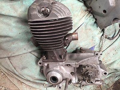 Villiers 197cc Vintage Motorcycle Engine