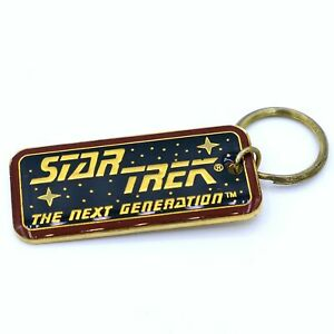 Star-Trek-The-Next-Generation-Premium-Keychain-1994-by-The-Hollywood-Pins-Co