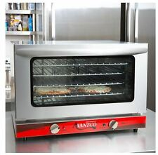 Commercial Countertop Half Sheet Size Convection Oven, 1.5 Cu. Ft.,120V, 1600W