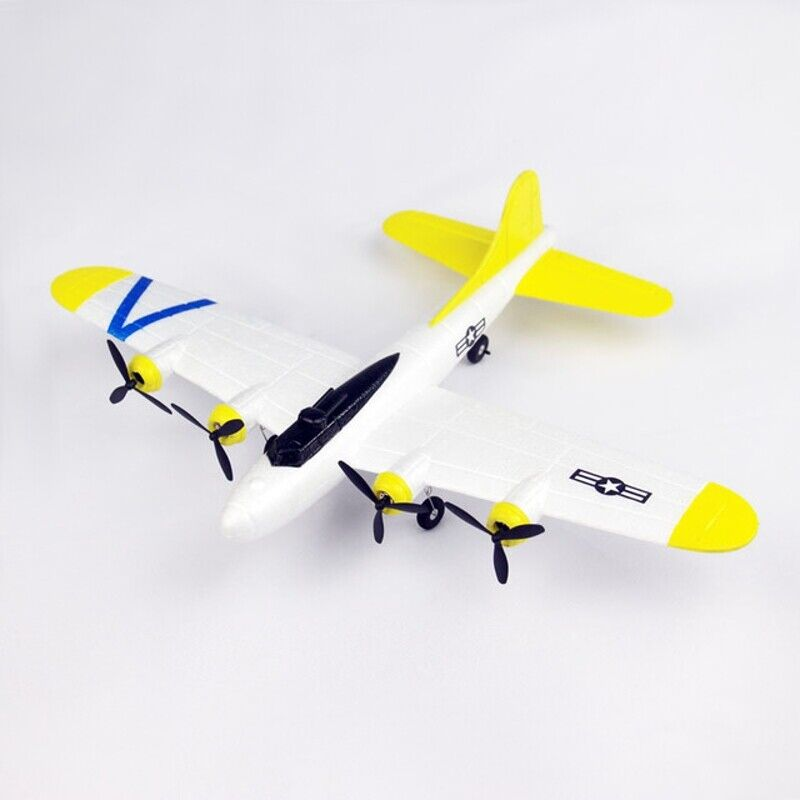 FX B17 465mm Wingspan 2.4Ghz 2CH Radio Control Airplane  RTF with Mode 2 Transmit  ampia selezione