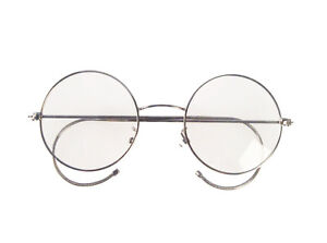 6e651a601ce Agstum Retro Round Optical Rare Wire Rim Eyeglass Frame Medium size ...