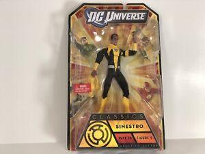 DC-Universe-Classics-Wave-20-SINESTRO-Nekron-BAF-CNC-6-034-Action-Figure