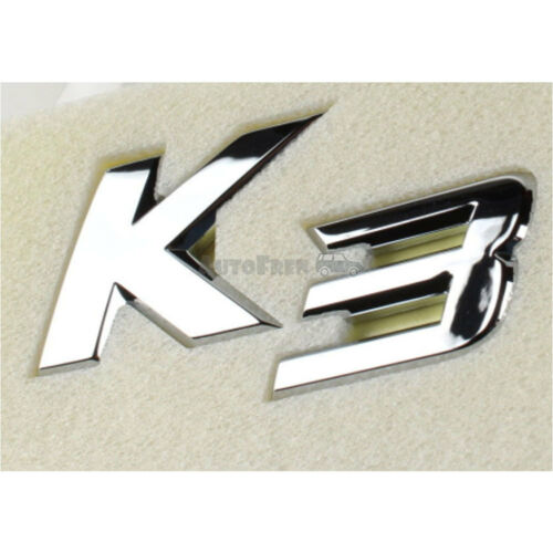 OEM Genuine Rear K3 Logo Emblem For Kia Forte