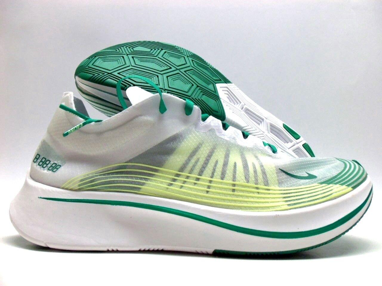 Nike zoom fly sp hong kong bianco / verde lucido dimensioni uomini [aj9282-101]