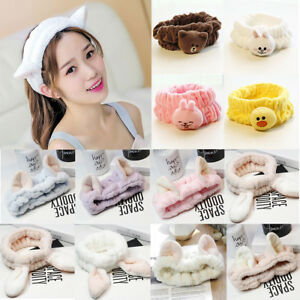 Spa-Bath-Shower-Makeup-Wash-Face-Cosmetic-Headband-Hair-Band-Velvet-Hairband-NEW