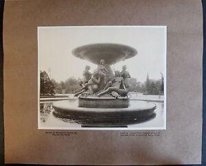 Fotografie-Brunnen-am-Albertplatz-1908-Sachsen-Ansicht-Foto-Dresden-xz