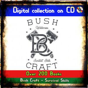 Bush-craft-wilderness-survival-Skills-books-camping-hunting-fishing-prepping