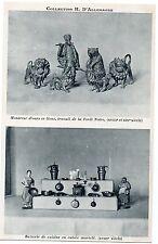 CPA Collection H. D'ALLEMAGNE + Montreur d'ours et lions + Batterie de cuisine